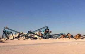 沙特沙石输送线案例